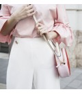 Bolso Parisian Chic. New Arrival Pink street