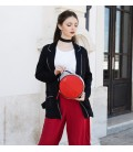 Parisian Chic Bag. New Arrival Elegant Red